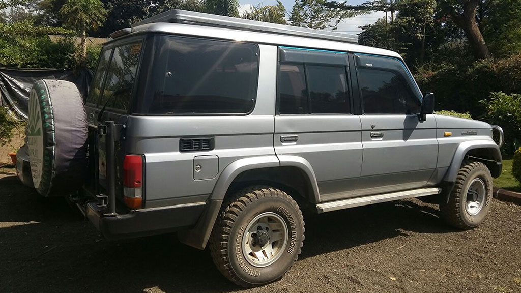 Rwanda 4×4 car hire