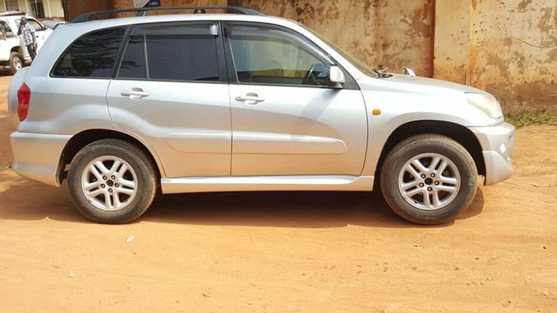 Rwanda Self drive car rental