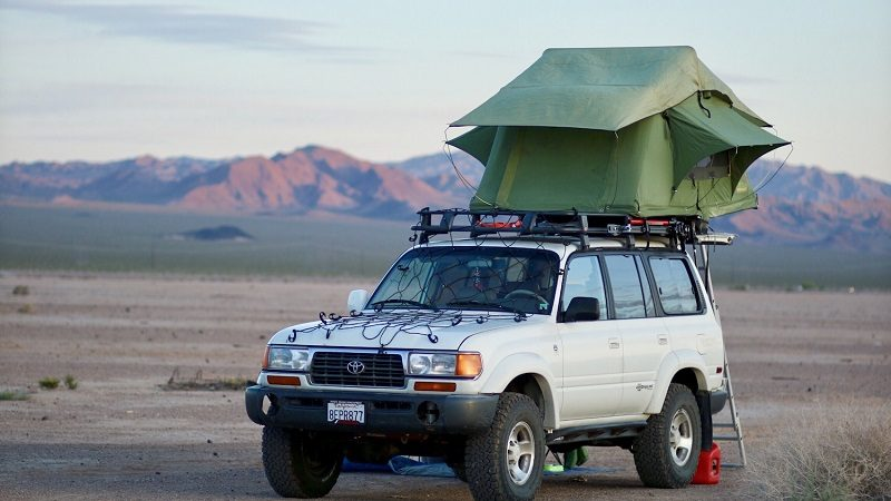 Toyota Land Cruiser Rooftop Tent